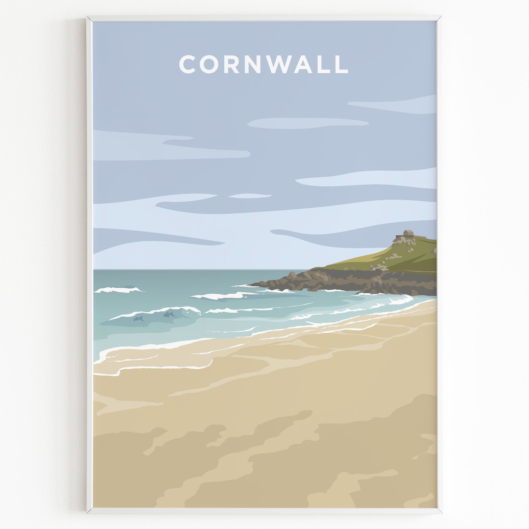 cornwall print st ives