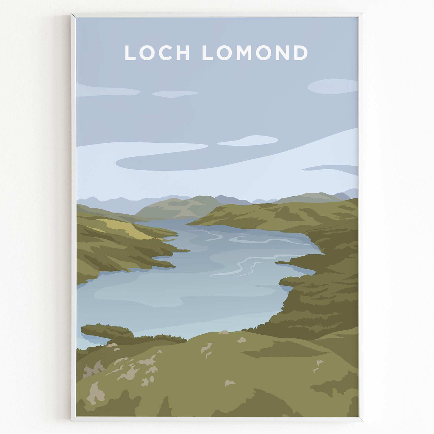 loch lomond print
