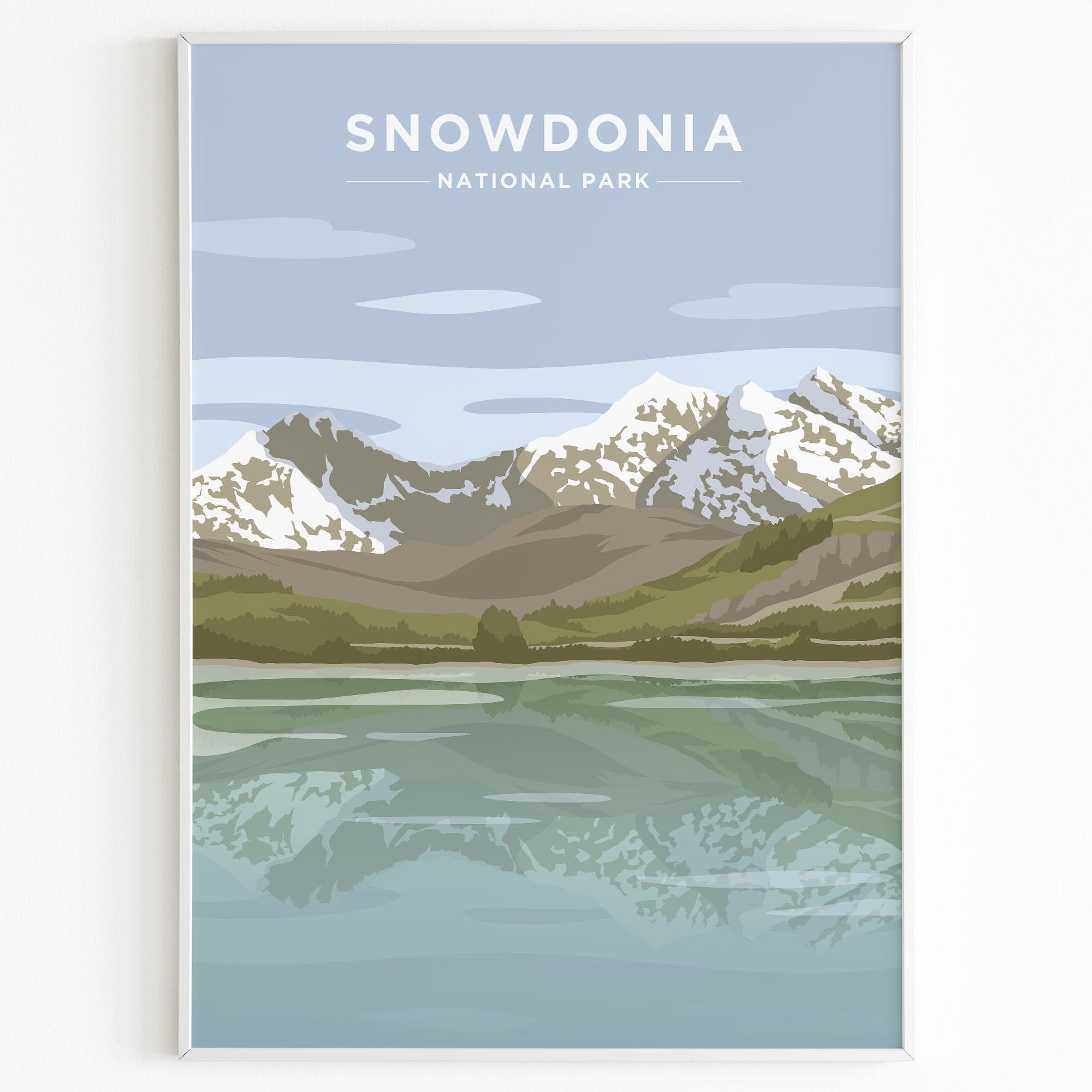 snowdonia print